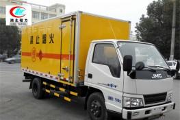 江铃4.2米爆破器材运输车【一类 黄牌】