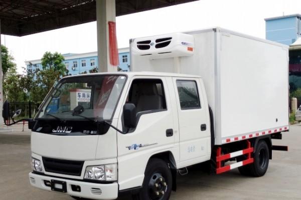 (厢长3.2米)江铃顺达双排冷藏车