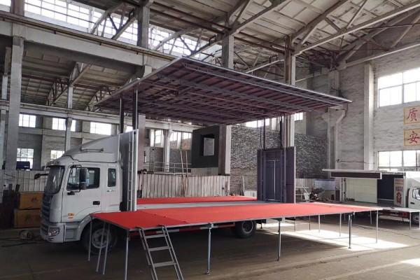 (45-80平方)江淮黄牌 舞台车