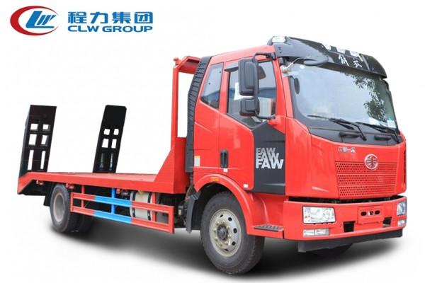 4X2单桥【10-15吨】平板运输车