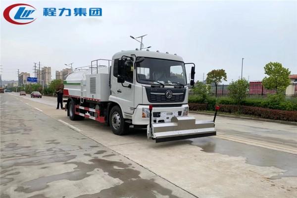 国六【8立方】东风天锦 路面清洗车