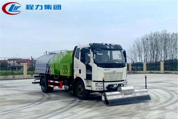 国六【8立方】解放J6 路面清洗车