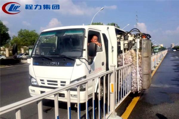 (4方)城市护栏清洗车