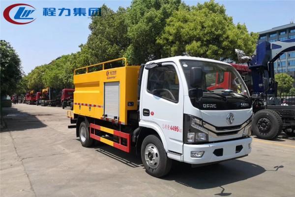 国六【4立方 蓝牌】东风D6管道清洗车