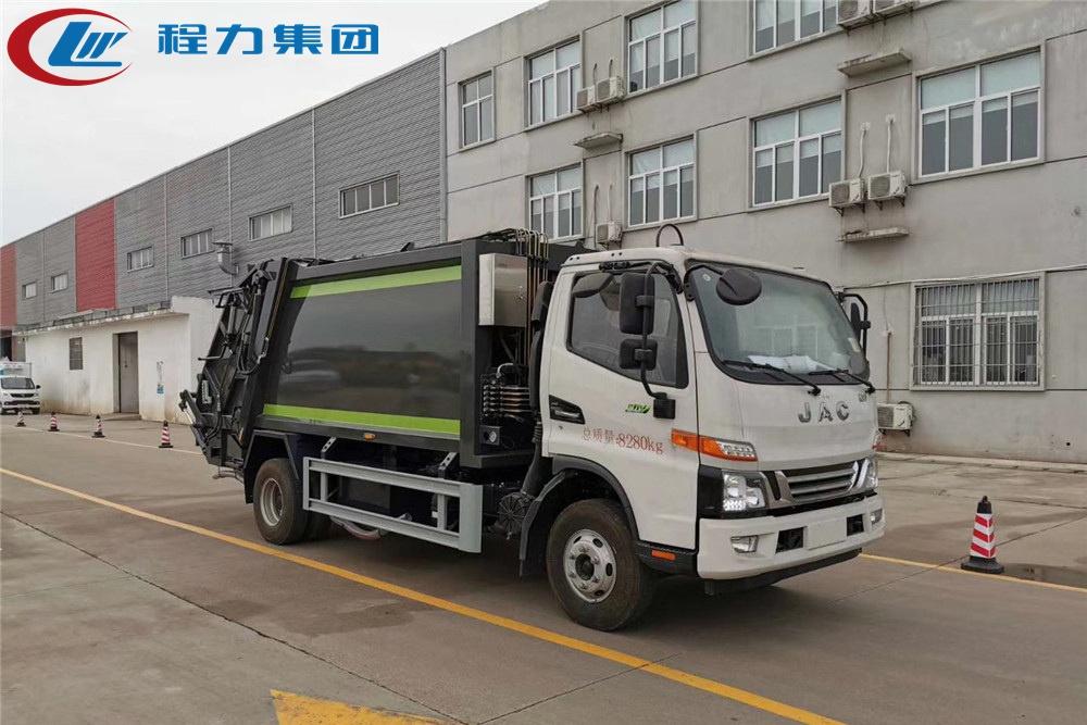 国六【8立方】江淮V7 压缩垃圾车