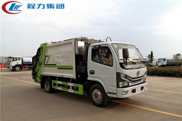 国六【6立方】东风D6 压缩垃圾车