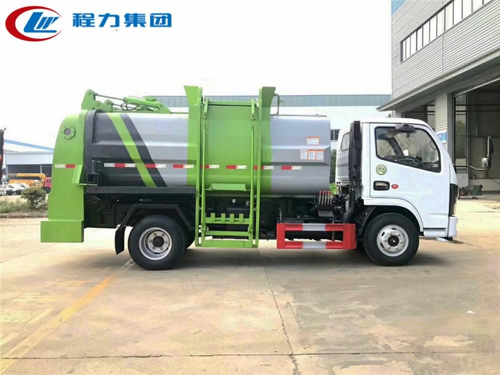 国六【6方】东风D6 餐厨垃圾车
