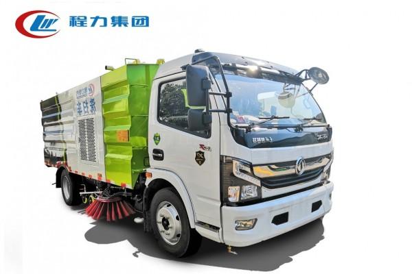 国六【4方水 5方尘】东风D7 洗扫车